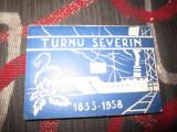 Turnu severin mapa cu reclame an 1958 n217