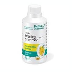 Evening Primrose + Vitamina E Rotta Natura 90cps Cod: 14736