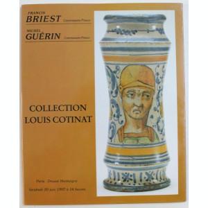 COLLECTION LOUIS COTINANT , CATALOG DE LICITATIE , 1997