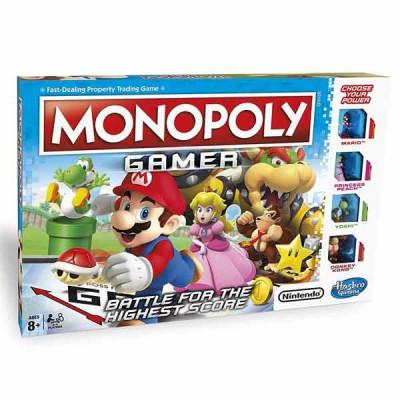Joc de societate Monopoly Gamer lb. romana C1815 Hasbro foto