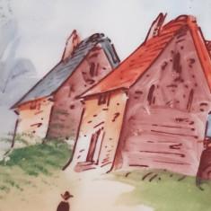 Farfurie Limoges Haviland Franta veche  portelan  pictata manual