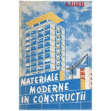 Materiale moderne in constructii