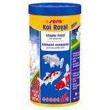 Sera Koi Royal Mini 1L 7110, Hrana pesti iaz granule 340gr