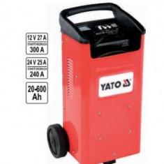 Robot de pornire auto 12V / 24V 20-600Ah, Yato YT-83060