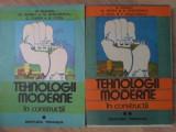 TEHNOLOGII MODERNE IN CONSTRUCTII VOL.1-2-R. SUMAN, M. GHIBU, N. GEORGIU, C. OARA, A. OTEL