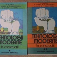 TEHNOLOGII MODERNE IN CONSTRUCTII VOL.1-2 - R. SUMAN, M. GHIBU, N. GEORGIU, C. O