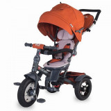 Cumpara ieftin Tricicleta multifunctionala Coccolle Giro Plus Caramiziu