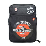 Ghiozdan gimnaziu Pigna Mickey Mouse denim negru MKRS1820-3