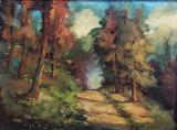 Iacob Brujan ( 1898 - 1984 ) - Peisaj , u/p, Peisaje, Ulei, Altul