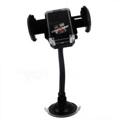 Suport telefon universal , fixare cu ventuza, brat flexibil, 55-100mm Kft Auto foto