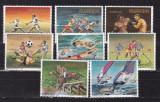 Rwanda  1984  sport  olimpiada  MI  1275-1282  MNH  w64, Nestampilat