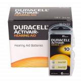 Baterii Duracell 10 pentru aparate auditive , 60 baterii / set