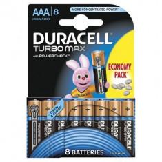 Baterie Duracell Turbo Max AAA LR03 8buc