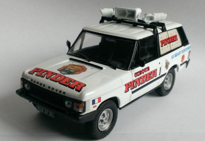Macheta Land Rover Range Rover 1980 -  Altaya 1/43