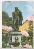 Bnk cp Baile Herculane - Statuia lui Hercules - circulata, Printata