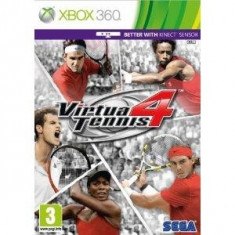 Virtua Tennis 4 - Kinect Compatible XB360