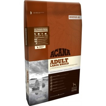 Acana Heritage Adult Dog Talie Mare 17 kg + recompense Tail Swingers 100 g
