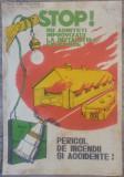Afis Protectia Muncii perioada comunista/ Improvizatii la instalatiile electrice