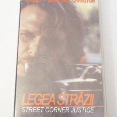 Caseta video VHS originala film tradus Ro - Legea Strazii