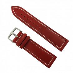 Curea de ceas din piele natural? Maro - 18mm, 24mm WZ2883