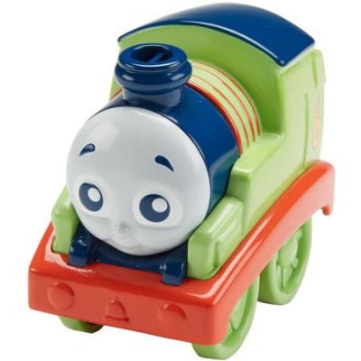 Locomotiva Fisher-Price Thomas si prietenii Percy cu tractiune foto