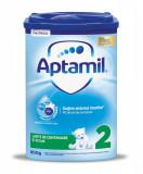 Lapte praf Aptamil 2, incepand de la 6 luni, 800 g, Nutricia