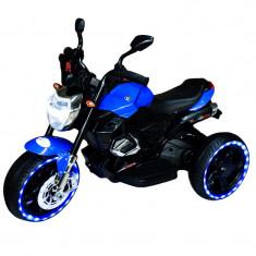Motocicleta cu acumulator si led 6V