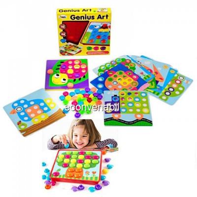 Joc Mozaic Creativ pentru Copii Genius ART foto