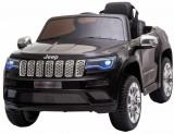 Cumpara ieftin Masinuta electrica Premier Jeep Grand Cherokee, 12V, roti cauciuc EVA, scaun piele ecologica, negru