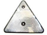Triunghi alb reflectorizant TR014, omologat, Palmonix