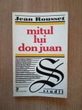 JEAN ROUSSET - MITUL LUI DON JUAN