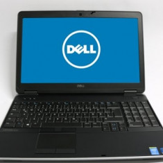 Laptop DELL Latitude E6540, Intel Core i7 Gen 4 4610M 3.0 GHz, 8 GB DDR3, 500 GB HDD SATA, DVDRW, WI-FI, WebCam, Tastatura Iluminata, Display 15.6in