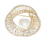 Ivory Pearl Gold Brosa