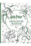Harry Potter. Creaturi magice - carte de colorat |