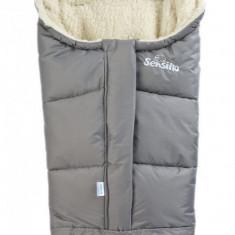 Sac de iarna Sensillo 3 in 1 lana Grey