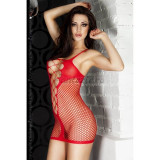 Red Minidress CR 3423 - OS