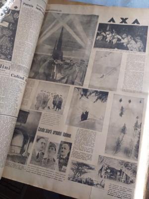 Ziarul AXA, ziar de lupta politica ,doctrina legionara, 1940, nr 42 foto