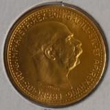 Moneda aur fin 10 Coroane Imperiul Austriac anul 1912, Europa