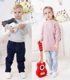Chitara clasica din lemn, pentru copii - jucarie