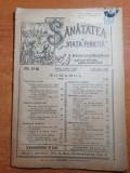 Sanatatea si viata fericita 1-15 iunie 1921-sanatatea femeii,copiilor,sociala