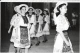 B604 Ansamblu folcloric Doina Armata femei port popular costum