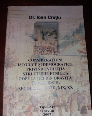 CONSIDERATIUNI ISTORICE SI DEMOGRAFICE PRIVIND EVOLUTIA .... foto