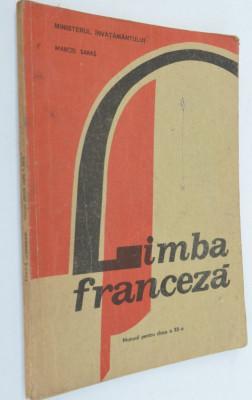 Manual limba franceza- clasa a XII-a 1995 foto