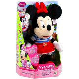 Jucarie plus Minnie Mouse Da un pupic Kiss Kiss