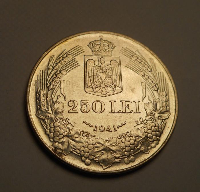 250 lei 1941 NSD Nihil sine Deo Piesa Frumoasa