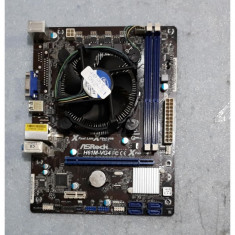 Kit Placa de baza - Asrock H61M-VG4 si processor i3-2130 3.40Ghz