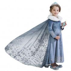 Rochie rochita Elsa Frozen noua cu blanita 3,4ani
