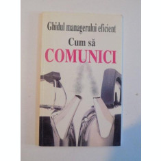 GHIDUL MANAGERULUI EFICIENT , CUM SA COMUNICI de KATE KEENAN , 1997