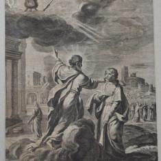 Gravura veche 1672