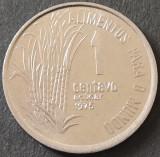 Moneda FAO 1 CENTAVO - BRAZILIA, anul 1975  *cod 642  = UNC, America Centrala si de Sud